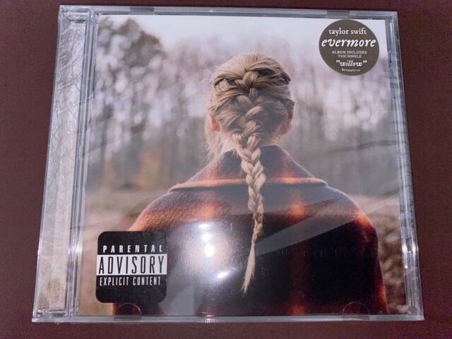 CD - TAYLOR SWIFT - Evermore - SEALED!