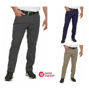 NEW-Pebble-Beach-Men-s-5-Pocket-Performance-Pants-Color-amp-Size-VARIETY