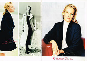 c49d86b2f818 PUBLICITE ADVERTISING 025 1994 GERARD DAREL mode ESTELLE HALLYDAY ...