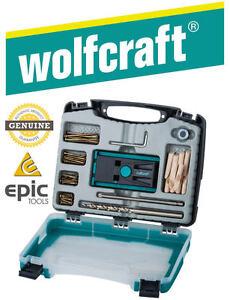 WOLFCRAFT-Undercover-Pocket-Hole-Jig-Kit-Set-amp-Drill-Bit-Screws-Collar-4642