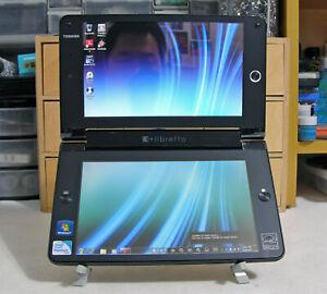 TOSHIBA-LIBRETTO-W100-DUAL-TOUCH-SCREEN-INTEL-U5400-1-2GHz-2GB-RAM-62GB-SSD-RARE