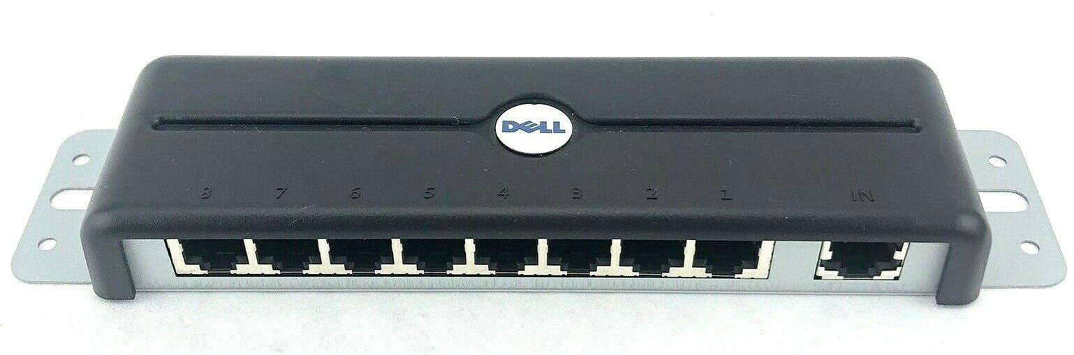 Genuine Dell Poweredge 8-Port KVM Switch Expansion Module 03H8HP FG697 0FG697