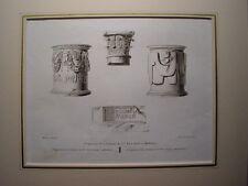 España. Extremadura. Badajoz. «Fragmentos de la columna de Sta. Eulalia en Merid