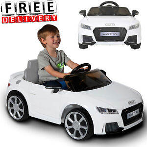 Details About Battery Ed Car For Kids Ride On Toy 6v Electric Audi Tt Toddler Vehicle