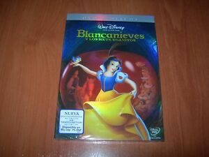 BLANCANIEVES-Y-LOS-SIETE-ENANITOS-2-DISCOS-DVD-WALT-DISNEY-EDICIoN-ESP-NUEVO