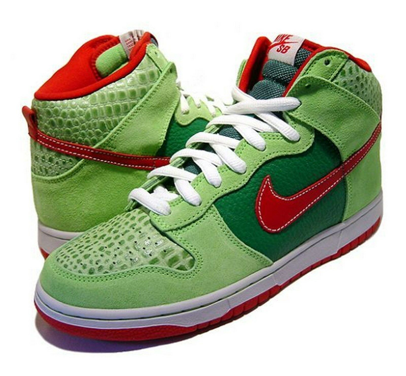 NEW NIKE DUNK HIGH PRO SB DR FEELGOOD SHOES SNEAKERS DEADSTOCK SIZE 8.5 US