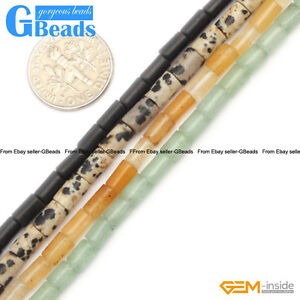 4x6mm-Assorted-Stones-Column-Tube-Beads-For-Jewelry-Making-Free-Shipping-15-034