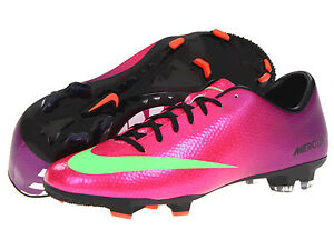 huge selection of 9bc76 b7ca6 Image is loading Nike-Mercurial-Victory-IV-FG-2013-Soccer-Shoes-