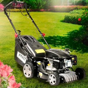 brast benzin rasenm her selbstantrieb 2 2kw 3 0ps motor mulch trimmer rad t v ebay. Black Bedroom Furniture Sets. Home Design Ideas