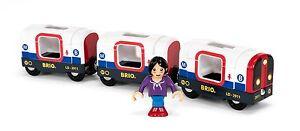 Tren-De-Madera-Brio-metro-con-luz-y-sonido-metro-bahn-33867-NUEVO-4-tlg-emb-orig