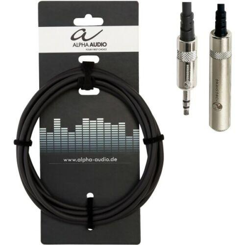 Alpha Audio Kopfhörerverlängerung 3,5 mm Miniklinke 3 mNeu