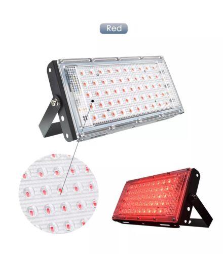 LED Flood Light RGB Outdoor 50W Waterproof Security Spotlight Garden Lamp 220V