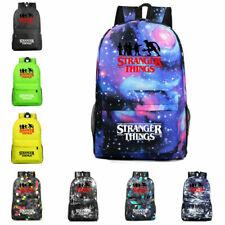 Stranger Things 3 Galaxy Backpack Waterproof Rucksack Boys Girls School Bag UK