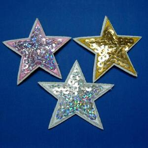 Red Star Applique Embroidered Iron On Patch iron-on Applique Badge parche  estrella roja embroidered