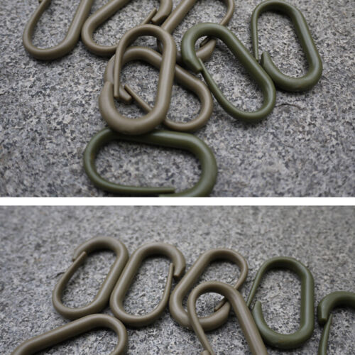 10x  Plastic Carabiner Lock Molle Buckle Survival Backpack Multiuse HH