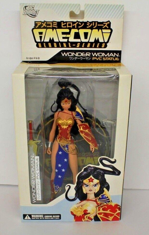 DC Direct Ame-Comi Heroine Series Wonder Woman PVC PVC PVC Statue df8732