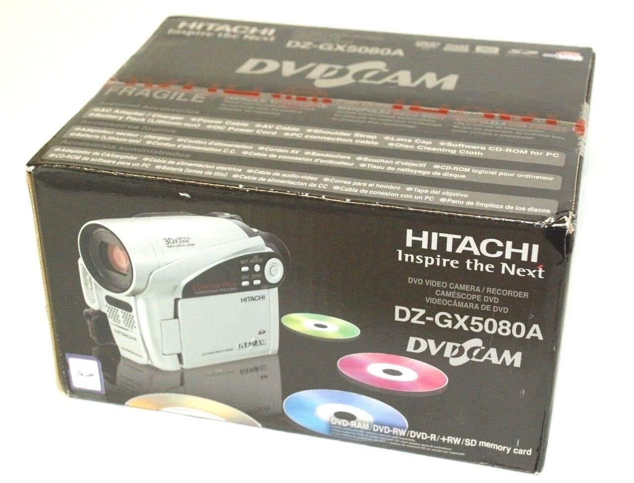 hitachi dz gx5080a dvd camcorder ebay rh ebay com Hitachi TV Repair Manual Hitachi TV Service Manual