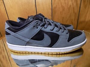 the latest 2298b 1f9e1 Image is loading Nike-SB-Dunk-Low-Dark-Grey-Black-White-