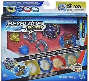 Beyblade-Burst-Evolution-Quad-Pack-Hasbro-Cognite-C3-Vs-Roktavor-R3-Recolor-Set