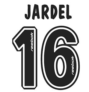 Sporting Lisbonne Jardel Nameset shirt Football Numéro Lettre chaleur Imprimé Football