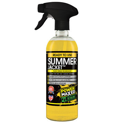 Summer Jacket™ Nano Shield Sealant 500ml Glass, Paint, Plastics, Steel, Rubber