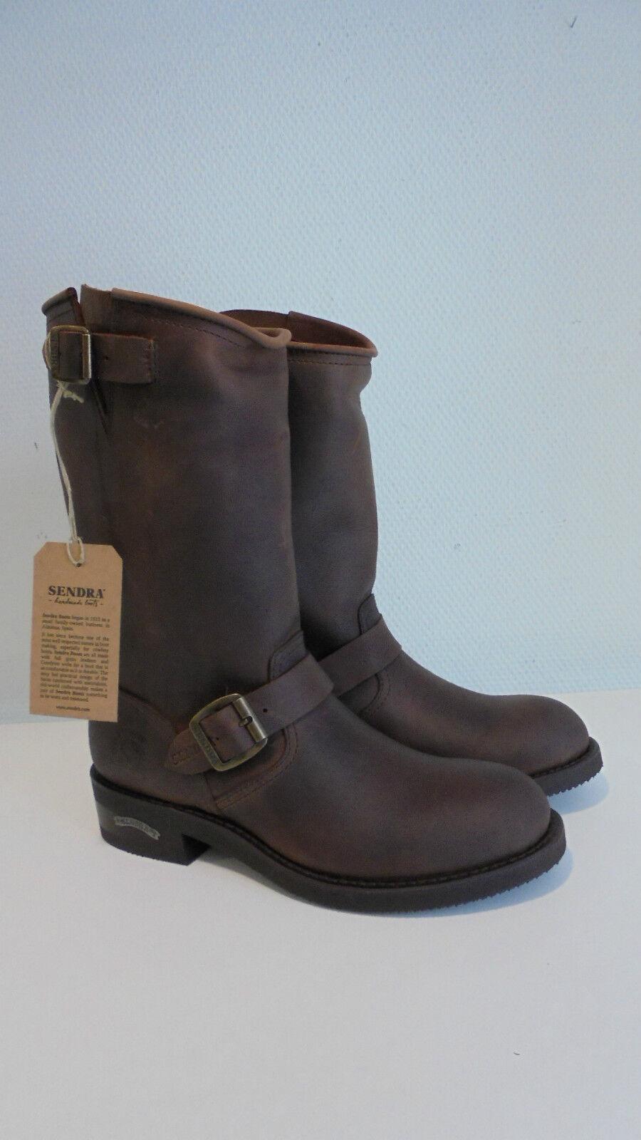 Sendra Boots Stiefel braun brown Modell 2944 Sprinter 7004 Herren Fettleder