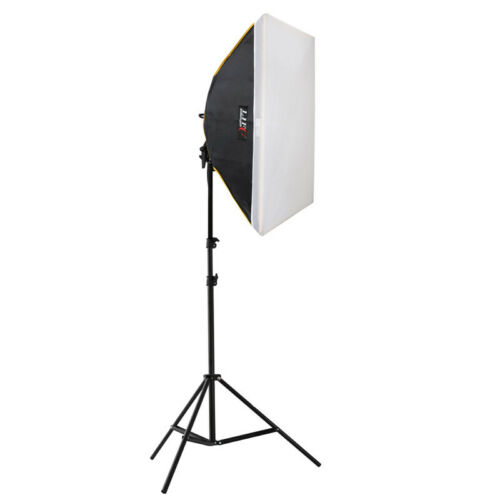 Life of photo LED foto-Studio-set zf-5070 duración-luz 4x60 w Softbox 50x70 cm
