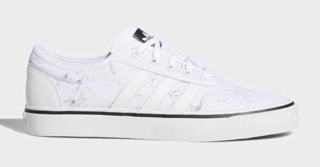 Unisex Adidas Originals Adi-Ease Bianco e Nero LO SKATEBOARD Scarpe Misura