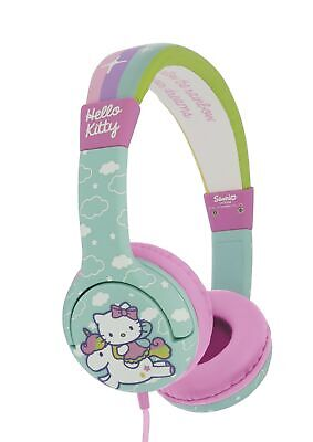 b0be489f4e790 Hello Kitty Unicorn Children's Headphones - Rainbow   eBay