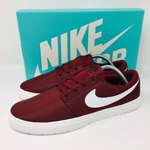 Details about *NEW* Nike SB Portmore II Ultralight (Men Size 10.5) RedBurgundy Skate Shoes