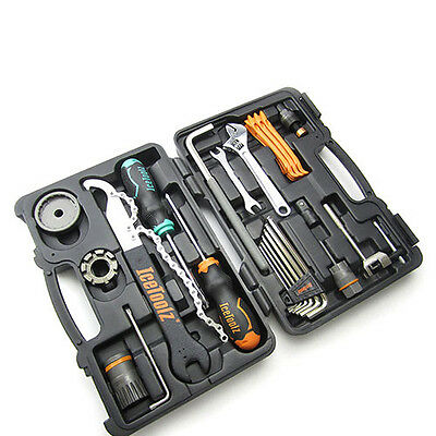 IceToolz 82F4 Bike Bicycle Cycling Essence Tool Kit 33 Functions 306x210x65mm