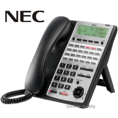 NEC Digital 24 Button Telephone System IP Black SL1100 Full Duplex 1100063