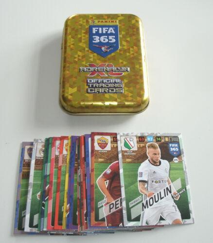 PANINI ADRENALYN XL FIFA 365 2018-Mini-TIN 25 Cartes De Base