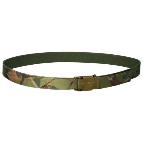Jack Pyke Fieldman Belt Camo English Oak Woodland Green Cordura Webbing 44/'/'
