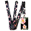 Beautiful-FLOWERS-Standard-size-ID-badge-holder-and-lanyard-neck-strap-gift thumbnail 32
