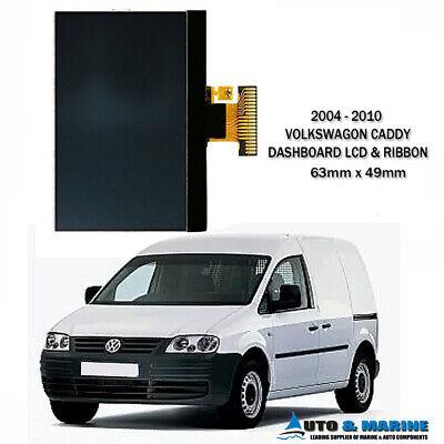 VW VOLKSWAGEN CADDY  DASHBOARD LCD DISPLAY /& RIBBON  2004-2010. NEW ...