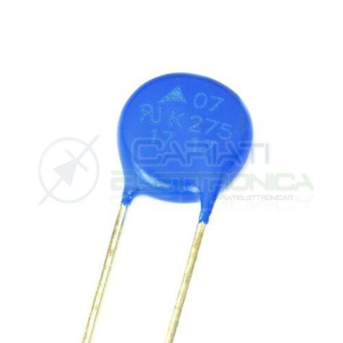 10 PEZZI Varistore S07K275 275Vac 350Vdc MOV soppressore EPCOS