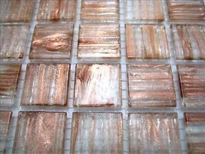 Vitreous Tessera 225 Full Sheet Turquoise Gold Dust Best Mosaic Tiles