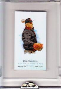 President-Bill-Clinton-eTopps-Allen-amp-Ginter-First-Pitch-502-999-in-hand