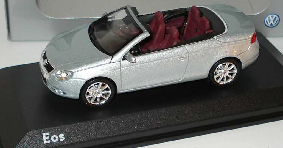VW VOLKSWAGEN EOS V6 2005 ROADSTER plata NOREV 1 43 CABRIOLET plata plata