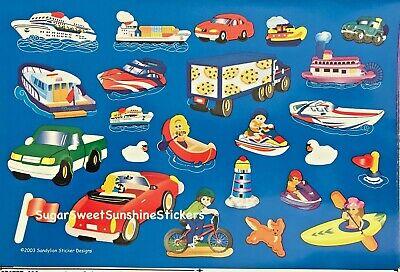 **vintage** Sandylion *super Maxi Vacation Maxi Girls* Sticker Sheet Super Rare!