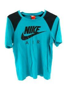 NIKE-AIR-Boys-T-Shirt-Top-12-13-Years-L-Large-Green-Cotton