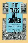 If it Takes All Summer: The Battle of Spotsylvania by William D. Matter (Paperback, 2013)