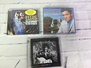 Elvis-Presley-A-Touch-Of-Platinum-A-Life-In-Music-Vol-2-amp-More-Lot-Of-3-Rare-CDs