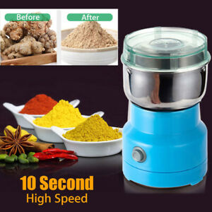 220V-Electric-Herbs-Spices-Nuts-Grains-Coffee-Bean-Grinder-Mill-Grinding-Home