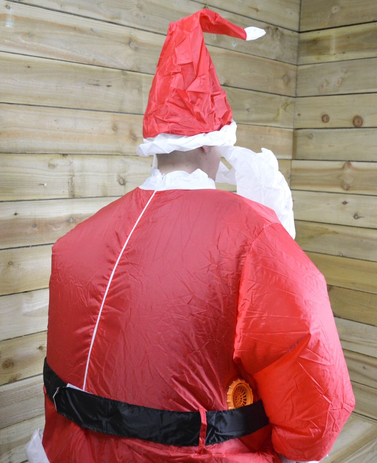 Openbox Brite Ideas Battery Operated Inflatable Santa Costume Suit 42