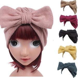 Details about Fashion Lovely Children Baby Girls Boho Hat Beanie Scarf  Turban Head Wrap Cap