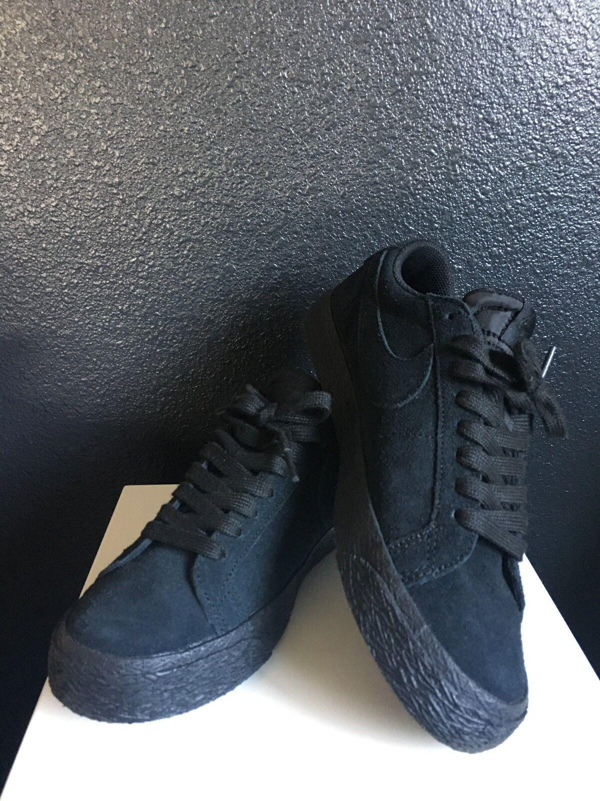 Nike SB Zoom Air Blazer Low Men's 6 All Black