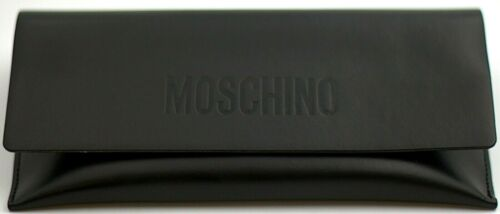 Moschino Brillenetui Lederetui Sonnenbrille schwarz