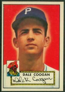 1952 Topps, #087, Dale Coogan, Pittsburgh Pirates, EX/MT-NM